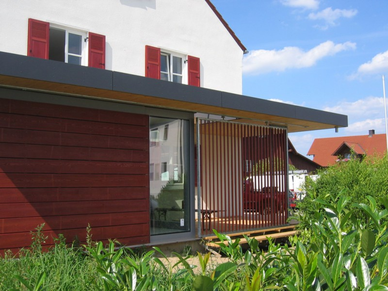 Anbau an ein Wohnhaus in Gablingen