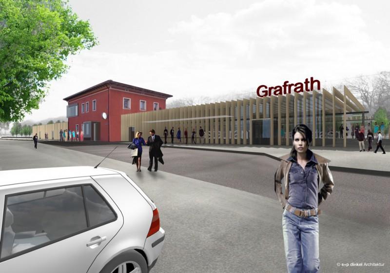 Bahnhof Grafrath – Konzeptstudie