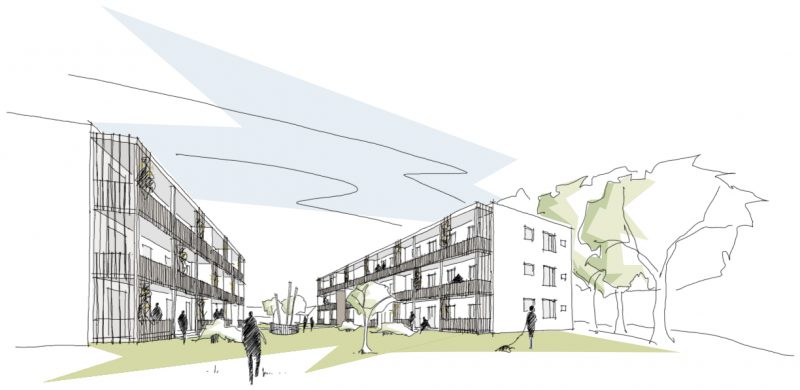 Realisierungswettbewerb – Geförderter Wohnungsbau in Feldafing