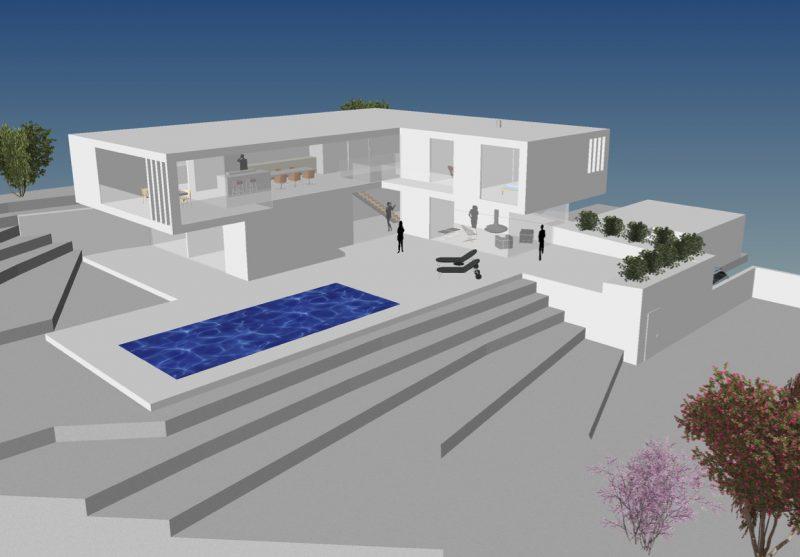 Wohnhaus in Ulm – Konzeptstudie