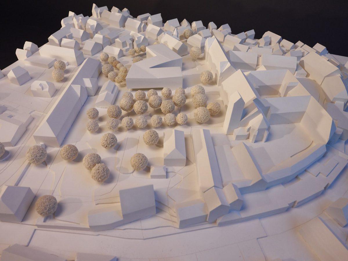 """1. Preis – Städtebauliche Entwicklung """"Schlossplatz-Areal"""" in Bad Buchau"""