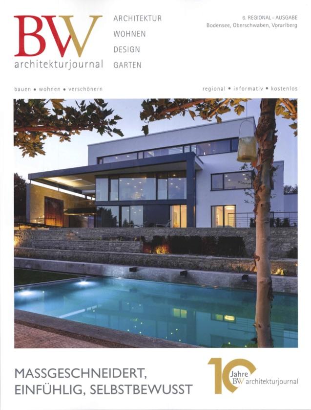 Wohnhaus in Ulm im BW Architekturjournal